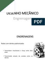 Desenho mecânico - engrenagens