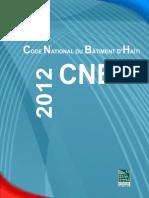 Code National Du Batiment Haitien