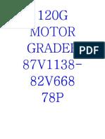 manual de partes 120G_87V07125