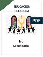 Presentacion Caratula Libro de Religion Carlos Calderon 2018