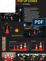 Flyer Foldable Cones