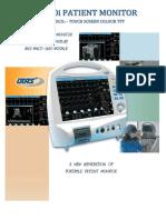 Brosur Patient Monitor -- UM 300I