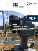 Tobee®  Warman SP SPR Vertical Slurry Pumps