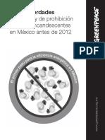 Mitos y verdades sobre la ley de prohibición de focos incandescentes en México antes de 2012