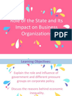 Role of the State and Its Impact on Csr Report