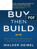 Buy Then Build - by Walker Deibel