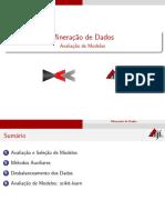 Mineracao de Dados 06 Avaliacao