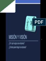 A1 Cap Mision Vision