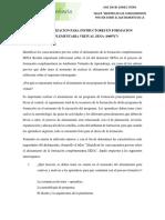 Actividad 2 - Taller - Identificar Los Conocimientos Previos Sobre El Alistamiento de La Formación Complementaria SENA