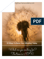 15 ways to raising vibratiom