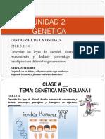 UNIDAD 2. GENETICA