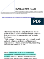 Grassroots in the Philippines