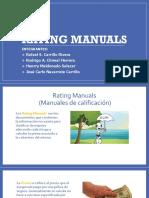 Rating Manuals