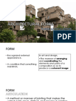 Architectural Forms