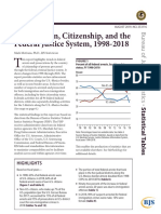 Immigration, Citizenship, and the Federal Justice System, 1998-2018
