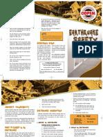 Earthquake Brochure