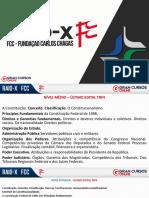 TRF 4 - Raio X - Direito Constitucional - Aragonê
