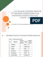 Ppt KD 3.1 SI Unit