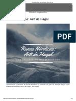 Runas Nórdicas_ Aett de Hagal – Bruxo de Lua