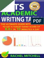 IELTS Academic Writing Task 1 by Rachel Mitchell
