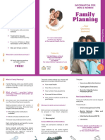 Family Planning Brochure