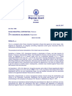 Paces Industrial Corporation vs Atty. Edgardo m. Salandanan