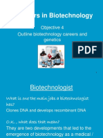 Careers in Biomed Tech Obj 4
