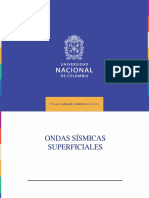 ONDAS SISMICAS SUPERFICIALES