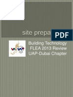 1-Site Preparation - UAP-Dubai - FLEA 2013