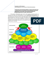 framework addressing the environmental problem