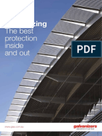 Galvanizing - The best protection inside and out