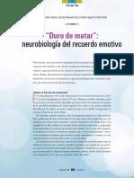 neurobiología del recuerdo emotivo