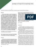 Simbiosis Neurocirugía-psicología en El Origen de La Neuropsicología