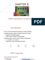 Chapter 5 - CMOS Operations & Fabrication
