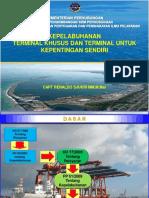 Pelabuhan Khusus Tersus Dan Tuks