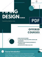 Piping Design Course Details  PDF