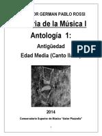 Hm 1 Ci 2014 Antologia 1 Antiguedad y Edad Media Canto Llano Env