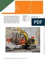 Quary drill rig