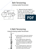 Tension v.belt