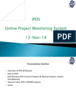 IPDS_13th Nov 18 Project Monitoring Meeting _Final (1)