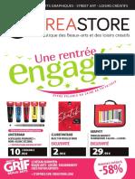 Promotion Rentrée des arts - Creastore.com