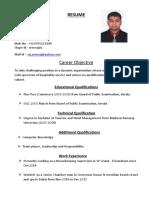 Sreeraj PDF