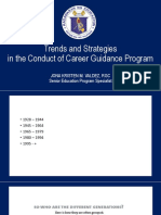 Trends and Strategies in the Conduct of Career Guidance Program