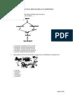 Latihan Soal Tumbuhan, Animalia, Jamur, Ekologi