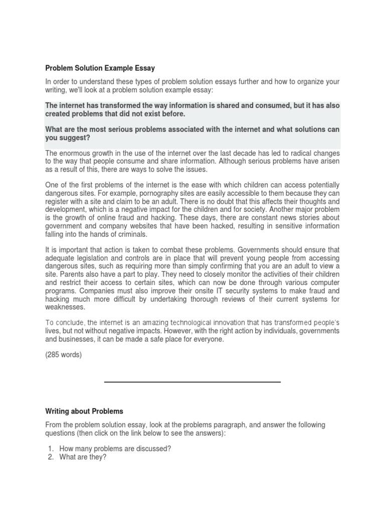 free essay global communications problem solution
