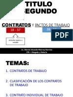 CONTRATOS Y PACTOS DE TRABAJO