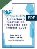 EjecuciónYControlDeProyectosconProject2003