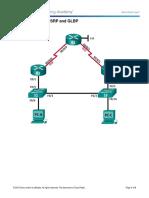 2.4.3.4 Lab - Configuring HSRP and GLBP (10m).docx