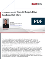 5 Tips to Lower Your Ad Budget, Drive Leads and Sell More
