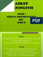 Askep Meningitis Ppt